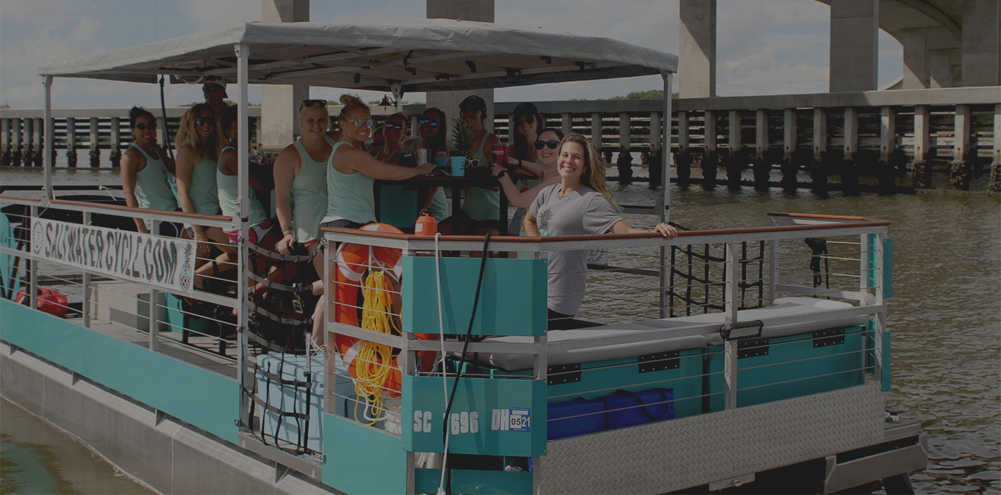 Best Boat Tours Charleston | Saltwater Cycle | Things to do