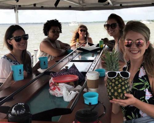 This Unique Floating Bar Will Take Your South Carolina Summer To A Whole New Level