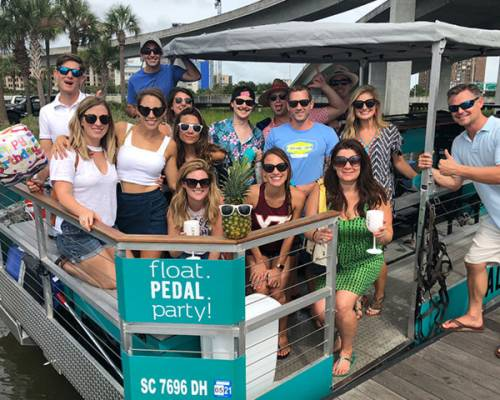 Saltwater Cycle rolls out a new floating pedal boat tour Memorial Day weekend